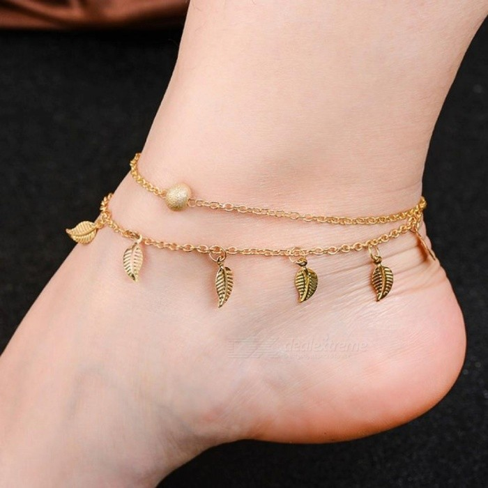 Hot Jewelry Anklets for Women Foot Accessories Summer Beach Barefoot Sandals Bracelet Ankle On The Leg Female Ankle Strap