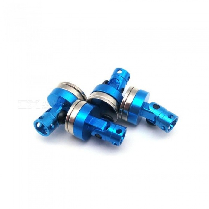 4pcs Aluminum Magnetic Stealth Invisible Body Post Mount for 1:10 RC Car  HSP Tamiya RC Crawler Axial SCX10 RC4WD D90 Blue