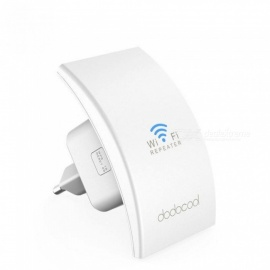 N300 Wireless Range Extender Signal Booster Support Access Point AP / Wifi Repeater Mode 2.4GHz 300Mbps Dual Antennas US Plug