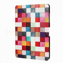 Slim Print Case for Acer Iconia Tab 10 A3-A40 One 10 B3-A30 10.1-inch Tablet PU Leather Case Folding Stand Cover+Screen Film+Pen JiaoTangChuang