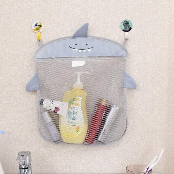Baby Bathroom Mesh Bag for Bath Toys Bag Kids Basket for Toys Net ...
