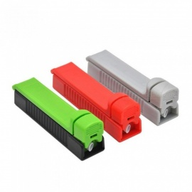 Plastic Rolling Injector Single Tube Tobacco Roller Cigarette Maker Rolling Plastic Injector Machine  Gray