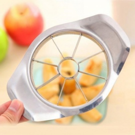 1 pcs apple cutter en acier inoxydable trancheuse de fruits apple corer poire cutters couteau éplucheur couper outil apple cutter trancheuse fruits trancheuse
