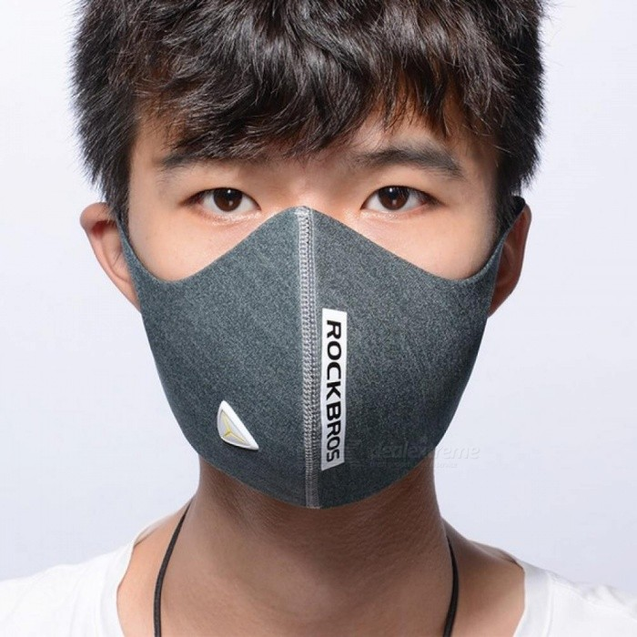5 filter sport face mask anti pollution anti dust air mask. Black Bedroom Furniture Sets. Home Design Ideas