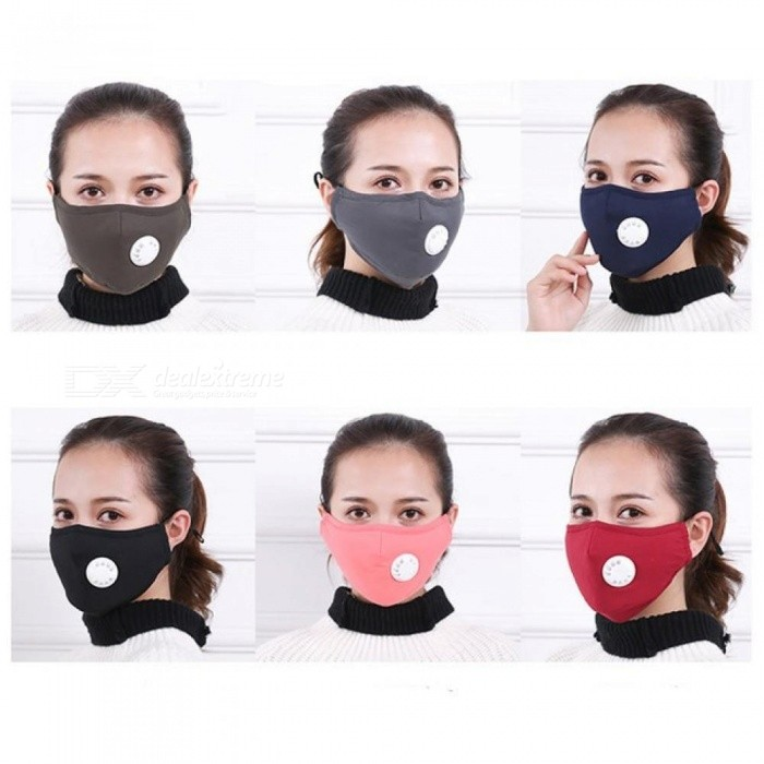 bbfc9db6721 Anti Pollution Mask Dust Respirator Washable Reusable Masks Cotton Unisex  Mouth Muffle for Allergy Asthma Travel