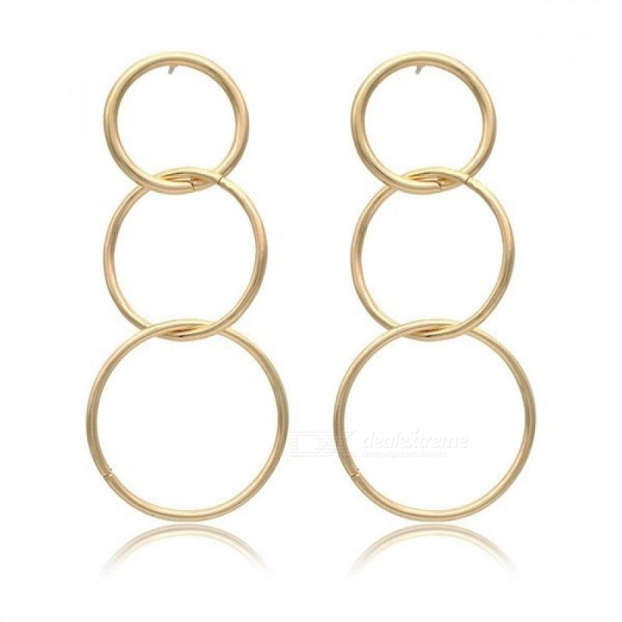 Fashion Jewelry Accessories Bohemia Big Hollow Circle Design Hoop Earring Best Gift for Lover's Girl