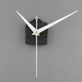 Quartz Useful Clock Movement Mechanism Parts Repairing DIY Replacement Tool Set with White Hands High Quality  Wall Clock Part