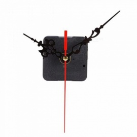 DIY Clock Mechanism Classic Hanging Black Quartz Watch Wall Clock Movement Mechanism Parts Repair Replacement Essential Tools Wall Clock Part