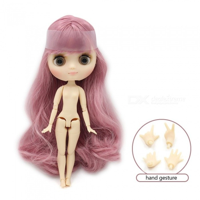 Blyth middie doll 1/8 20cm matte frosted face joint body