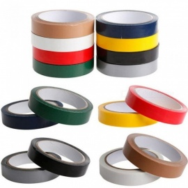 Duct Gaffa Gaffer Waterproof Adhesive Repair Bookbinding Cloth Tape Red Black Blue Brown Green Silvery Gray White Yellow 10M/Brown/20mm