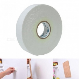5mmx24mmx1.8mm White Strong Double Sided Sticky Tape Foam Double Faced Adhesive Craft Padded Mounting Double Sided Sticky Tape