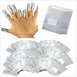 100Pcs/Lot Aluminium Foil Nail Art Soak Off Acrylic Gel Polish Nail Removal Wraps Remover Makeup Tool Nail Care 100Pcs