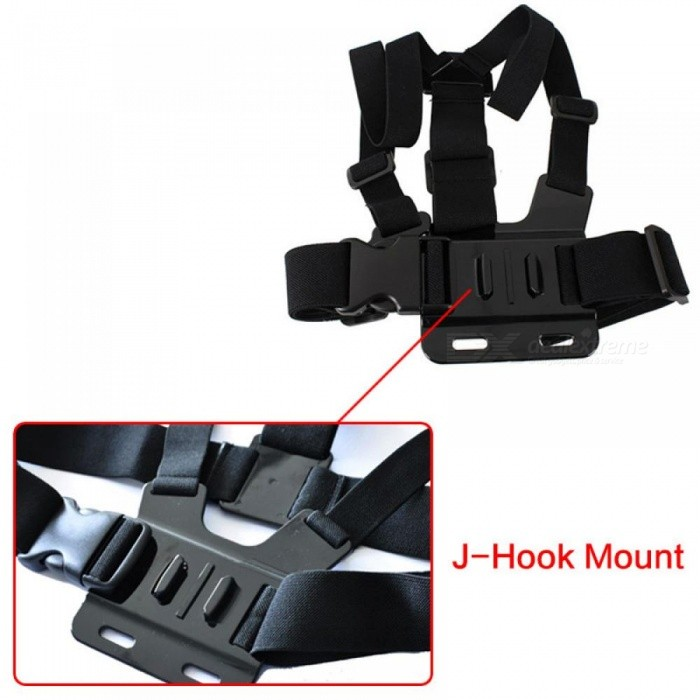 For Xiao Mi Yi Gopro Hero 5/4/3/3+ Accessories Chest Belt Action Camera Holder Sport Cam SJ4000 Strap Mount Adjustable Strap