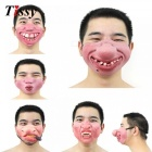1PC Funny&Scary Of Half Face Clown Latex Masks For Cosplay Costume/ Halloween Party Decoration Supplies  No3