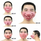 1PC Funny&Scary Of Half Face Clown Latex Masks For Cosplay Costume/ Halloween Party Decoration Supplies  No1