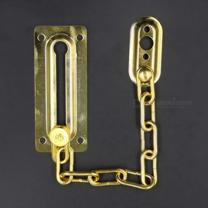 Chrome Chain Door Safety Guard Latch Security Peep Bolt Locks Cabinet Latches DIY Home Tools Door Chain Lock