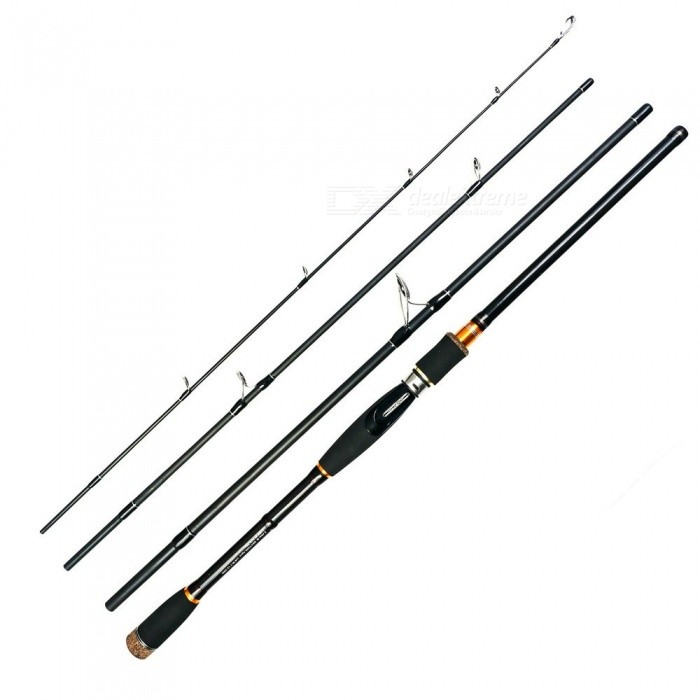 2.1 2.4 2.7m Lure Rod 4 Section Carbon Spinning Fishing Rod Travel Rod Casting Fishing