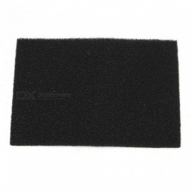 200x300x12mm Activated Carbon Impregnated Foam Filter Sheet Filters Accessories Black External Filter M/Black
