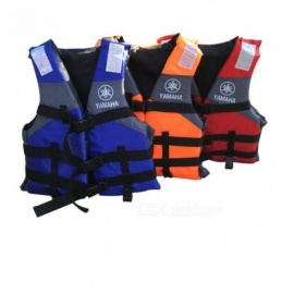 Life Vest Outdoor Professional Life Jacket Swimwear Swimming Jackets Water Sports Survival Dedicated Child Adult  red adult less 90KG