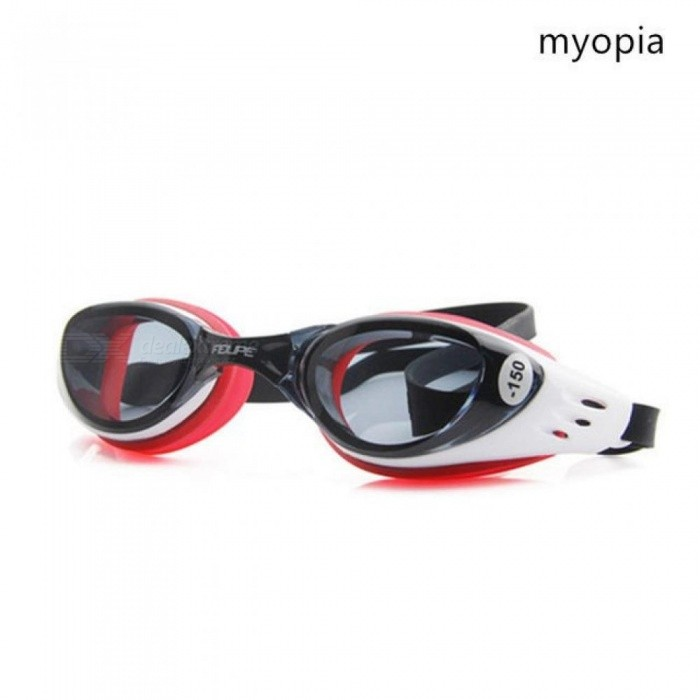 0466a55e44 Myopia Swim Goggles Swimming Diopter Glasses Anti Fog UV Protection Optical  Waterproof Eyewear for Men Women Adults Sport myopia red 200 - Worldwide  Free ...