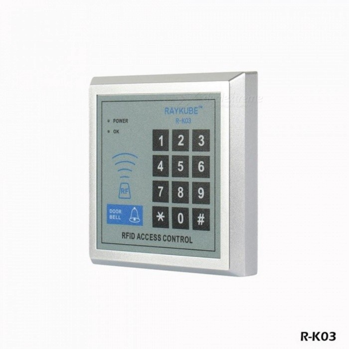 Special Offer Access Control Kit Electric Strike Lock + Password Keypad  RFID Reader Counter Strike RSNC