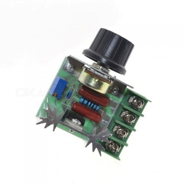 2000W AC 220V SCR Electronic Voltage Regulator Module Speed Control Controller Worldwide Top Sale High Quality