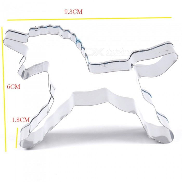 Lovely Mini Animal Horse Shape   Cookie Cutter Cake Biscuit Pastry Mold SP