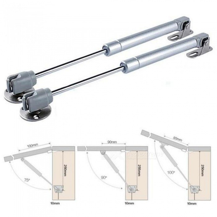 ... Practical Furniture Hinge Kitchen Cabinet Door Lift Pneumatic Support  Hydraulic Gas Spring Stay Hold Pneumatic Hardware