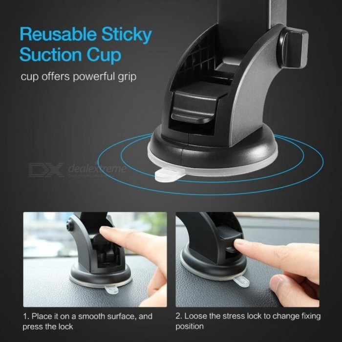 Luxury Car Phone Holder For Iphone X 8 7 7 6 Plus Windshield Mount