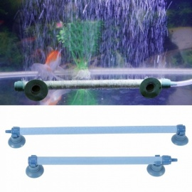 6Sizes Fish Tank Aquarium Air Stone Bubble Wall Aeration Tube Oxygen Pump Diffuser High Efficiency And Without Pollution 28inch/Blue