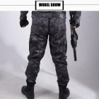 Military Black Python Combat Army Cargo Pants High Quality Working Harem Pant Mens Tactical Men Jogger Pantalon Homme Sweatpants L/Black Python