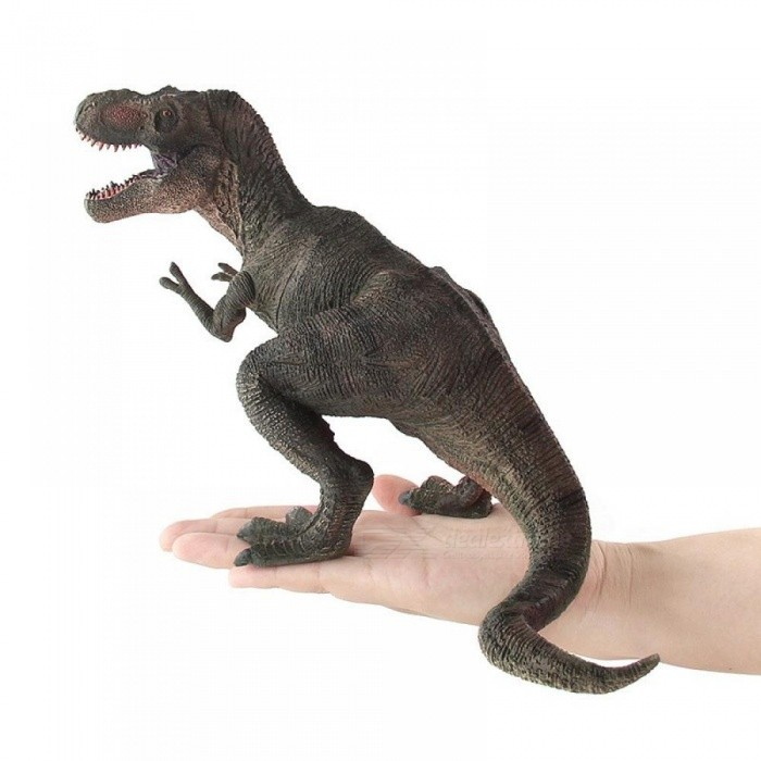 Action & Toy Figures Jurassic Tyrannosaurus Dragon Dinosaur Toys Plastic Dolls Animal Collectible Model Furnishing Toy Gift