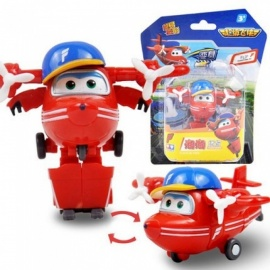 Super Wings Mini Airplane ABS Robot Toys Action Figures Super Wing Transformation Jet Animation Children Kids Gift With Box ASTRA