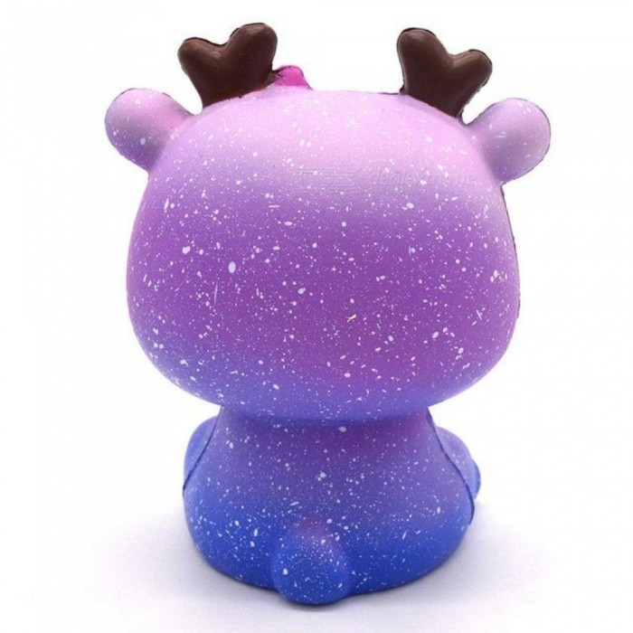 Soft Slow Rising Squishy Toys Cute Lovely Jumbo Big Galaxy Star Deer Cartoon Animal Squishy Toys with Good Smell Scented