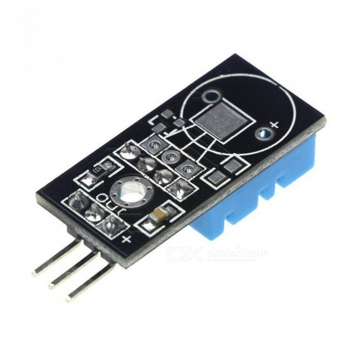 Temperature and Relative Humidity Sensor DHT11 Module with Cable for Arduino Diy Kit Temperature Sensor