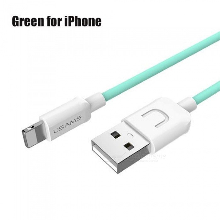 14fde906db4 ... USB Cable for iPhone 1m IOS 11 10 9 8 2A Fast Charger USB Charging Cable