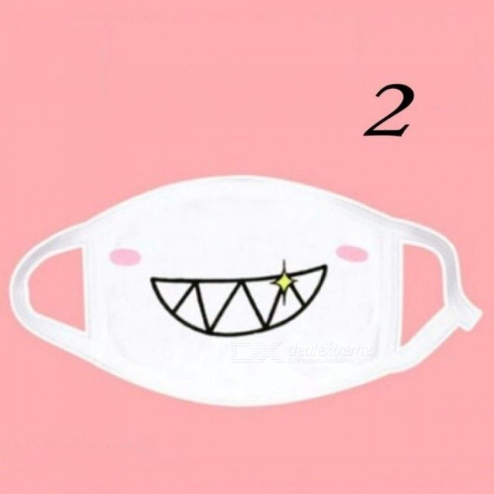 1pc Kawaii Anti Dust Mask Kpop Cotton Mouth Mask Cute Anime Cartoon Mouth Muffle Face Mask Emotiction Masque Kpop Masks