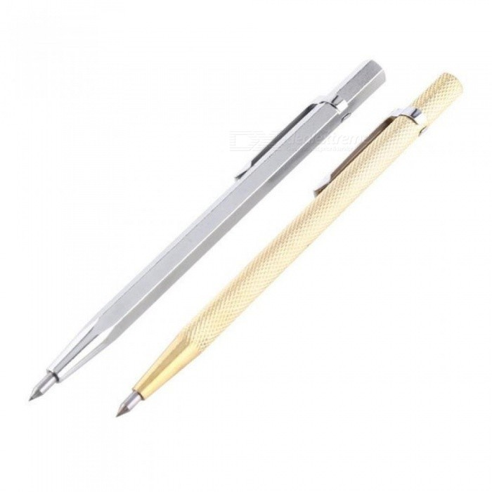 Tungsten Carbide Tip Scriber Etching Engraving Pen Marking Jewelry Engraver Lettering Pen Metal Scribe Tools Hand Tool
