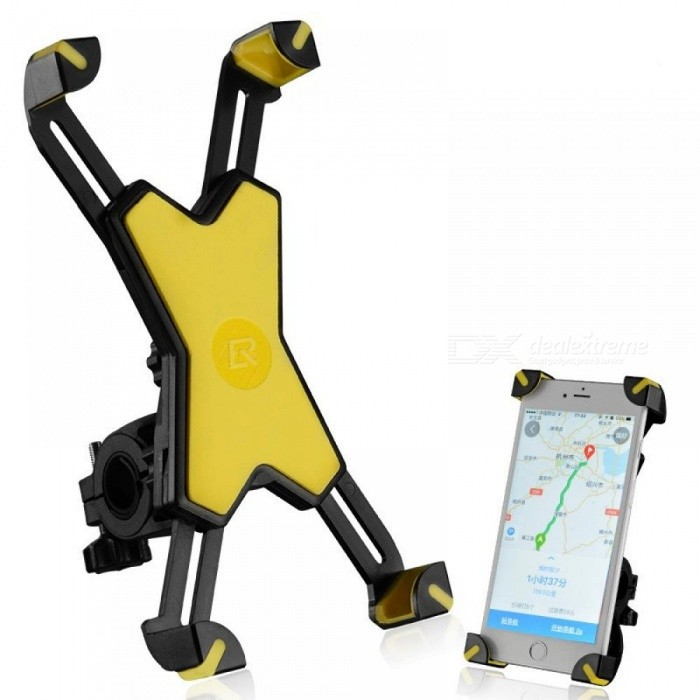 Universal Bike Phone Stand PVC Bicycle Handlebar Mount Holder for iPhone Samsung HTC Sony Cellphone Cycling Accessories