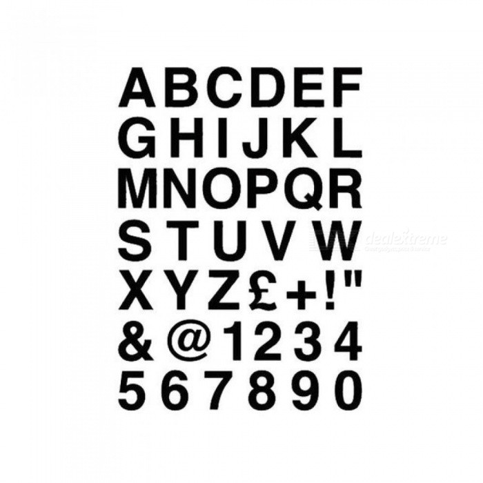 16.2x23cm Alphabet Letters & Numbers Personalized Custom Car Sticker Classic Vinyl Car Body Decals Black Silver