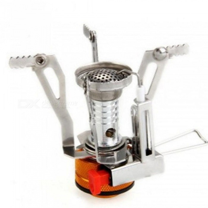 Ultra-Light Alloy Camping Equipment Stove Gas Burners Outdoor Cooker Outdoor Stove Mini Gas Stoves