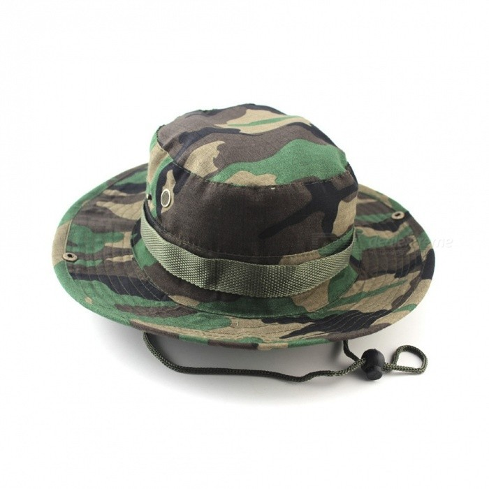 dd25bac5e8adf Unisex Bucket Hats Outdoor Jungle Military Camouflage Bob Camo Bonnie Hat  Fishing Camping Barbecue Cotton Mountain Climbing Hat One Size/Green -  Worldwide ...