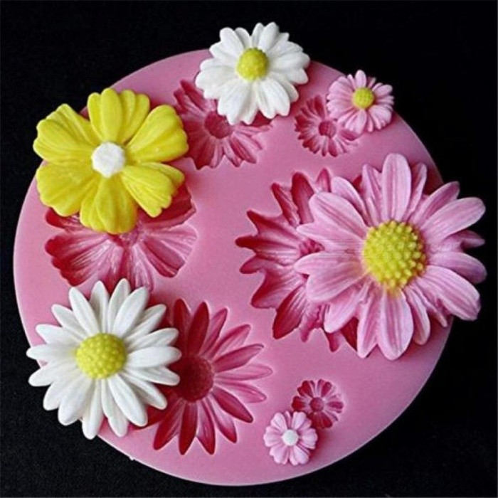 3D Flower Silicone Mold Cake Decoration Flowers Fondant Cake Decorating Chocolate Sugarcraft Mould DIY Supply