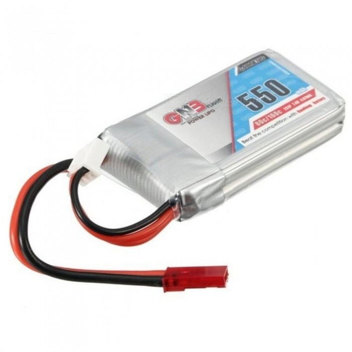 GNB 7.4V 550mAh 2S 80/160C Lipo Battery JST Plug for Aurora 90 100 Composite Material Battery for Vehicles & Remote Control Toys