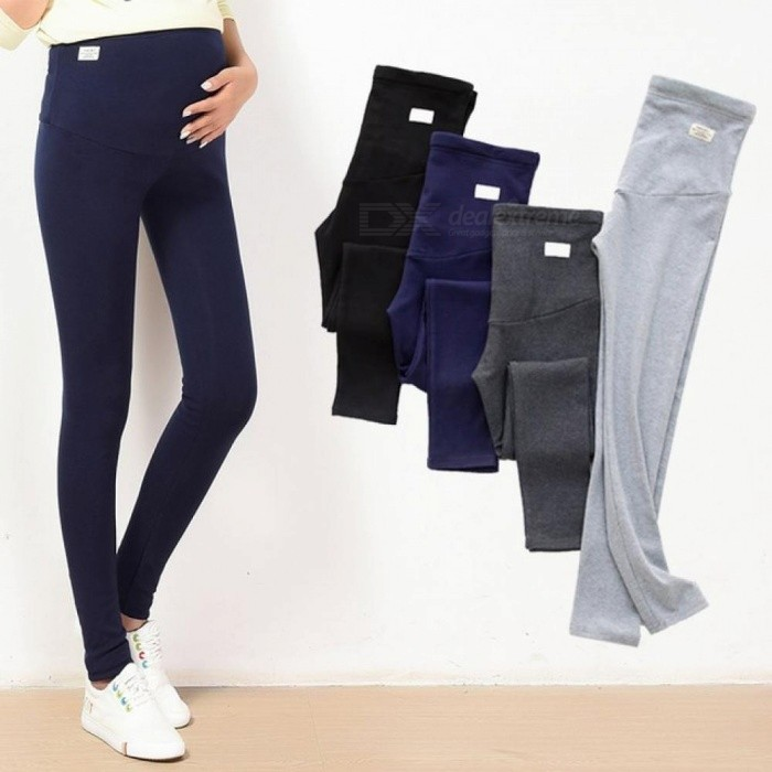 81a106e0dbc05 Summer Belly Skinny Maternity Legging in Elastic Cotton Adjustable Waist  Pencil Pregnancy Pants Clothes for Pregnant XL/Black - Worldwide Free  Shipping - DX
