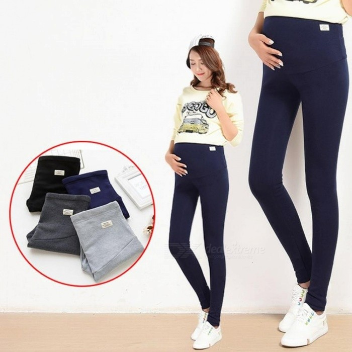 10460cabb55e2 ... Summer Belly Skinny Maternity Legging in Elastic Cotton Adjustable Waist  Pencil Pregnancy Pants Clothes for Pregnant ...