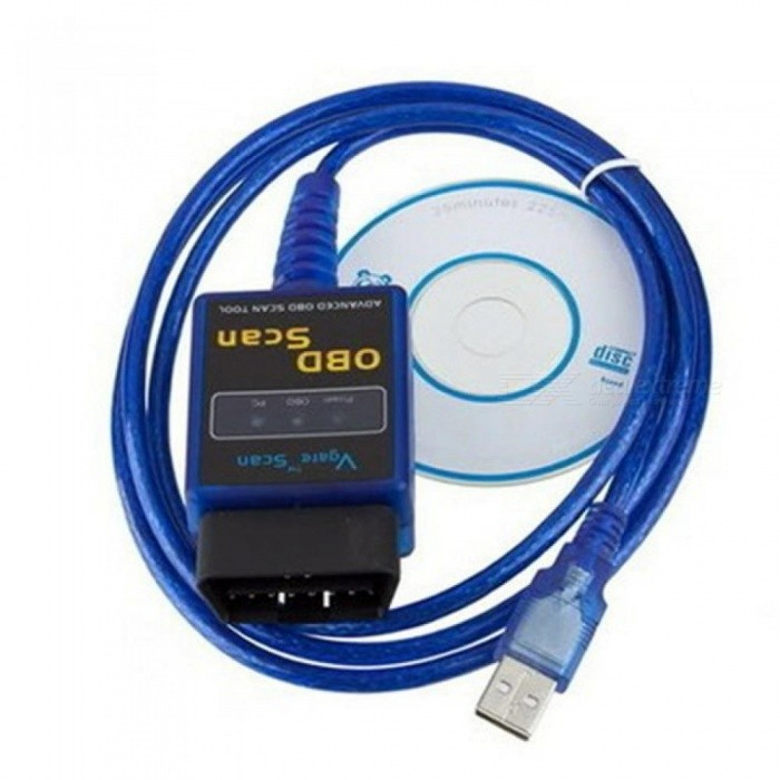 Vgate Scan USB ELM327 OBD2 OBD 2 Interface Cable Car ECU Diagnostic Tool