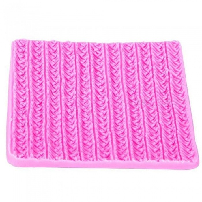 Sweater Fabric Knitting Texture Biscuits Embossed Pad