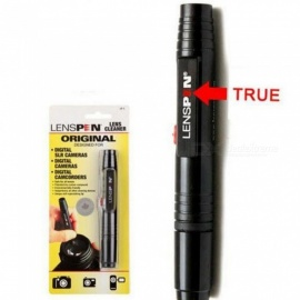 LP-1 Dust Cleaner Camera Cleaning Lens Pen Brush kit for Canon Nikon Sony Filter DSLR SLR DV Black Color Black\