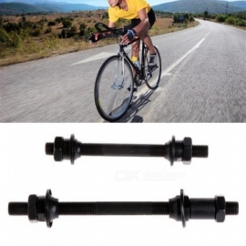 Mountain Bike Bicycle Accessories Quick Release Front Back Axles Hollow Hub Shaft Lever Black Color Available 14.5cm
